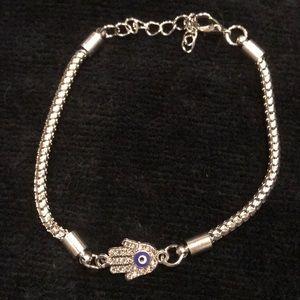 Jewelry - 💐NEW Hamsa Hand of Fatima protective eye bracelet